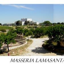Masseria的用戶個人資料