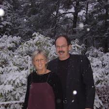 Piet & Linda és l'amfitrió.