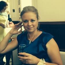 Ольга is the host.