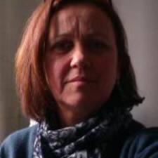 Bernadette felhasználói profilja