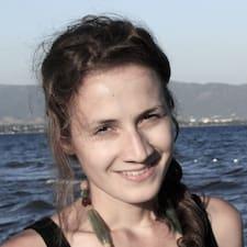 Ivelina felhasználói profilja