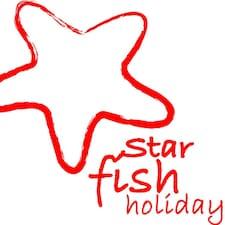 Starfish ist der Gastgeber.