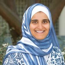 Sharifa felhasználói profilja