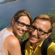 Gebruikersprofiel Irina&Mickaël