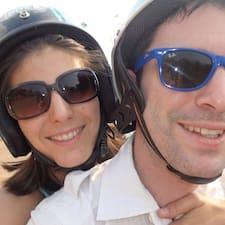 Profil Pengguna Charline & Adrien