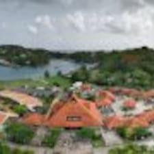 Henkilön St Lucia käyttäjäprofiili