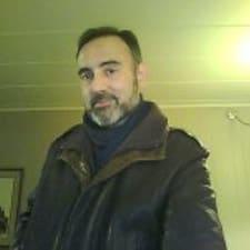 Constantine felhasználói profilja
