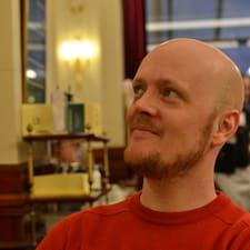 Användarprofil för Tobias