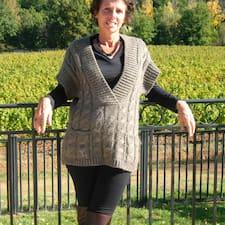 Henkilön Anne-Dominique käyttäjäprofiili