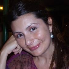 Tiziana is the host.
