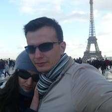 Profil Pengguna Maria & Velizar