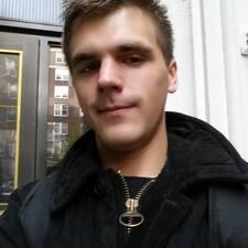Evan felhasználói profilja