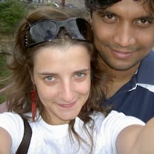 Lucia & Rakesh User Profile