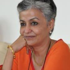 Sangeeta is the host.
