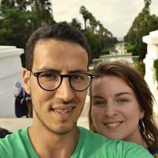 Chloé & Mounir ist der Gastgeber.