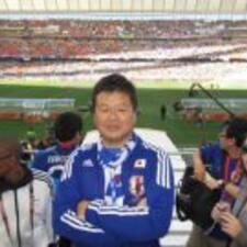 Toshitada felhasználói profilja