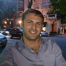Agustín is the host.