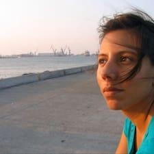 Alejandra is the host.