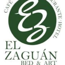 Zaguán is the host.