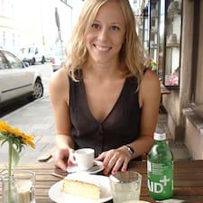 Josefine felhasználói profilja