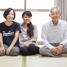 Miwakiko is the host.