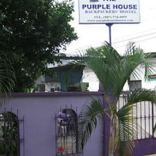 The Purple House is the host.