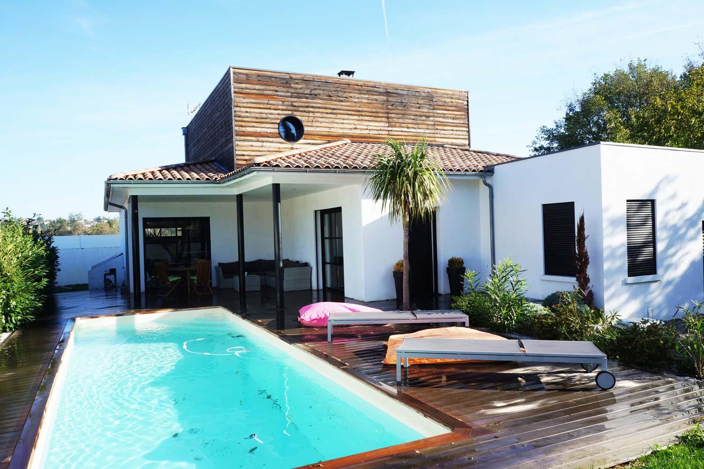 Villa D Architecte Avec Piscine Et Terrasse Maisons A Louer A Toulouse Midi Pyrenees France