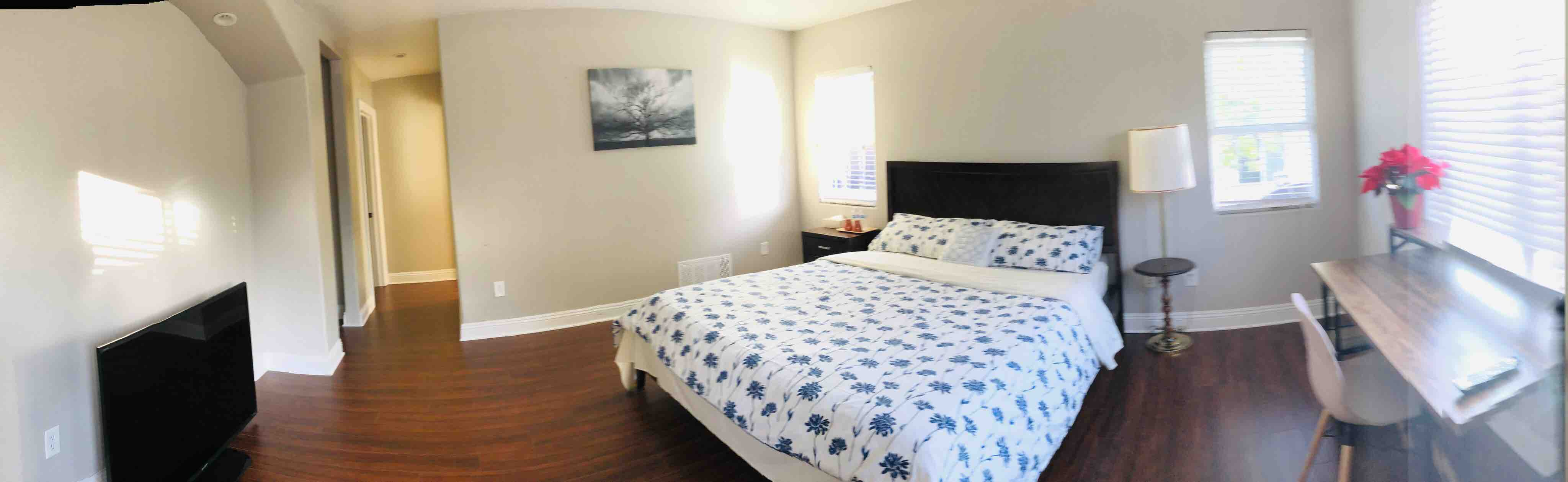 Master Bedroom With Cal King Bed 24hrac Smart Tv Houses For Rent In Rowland Heights California United States