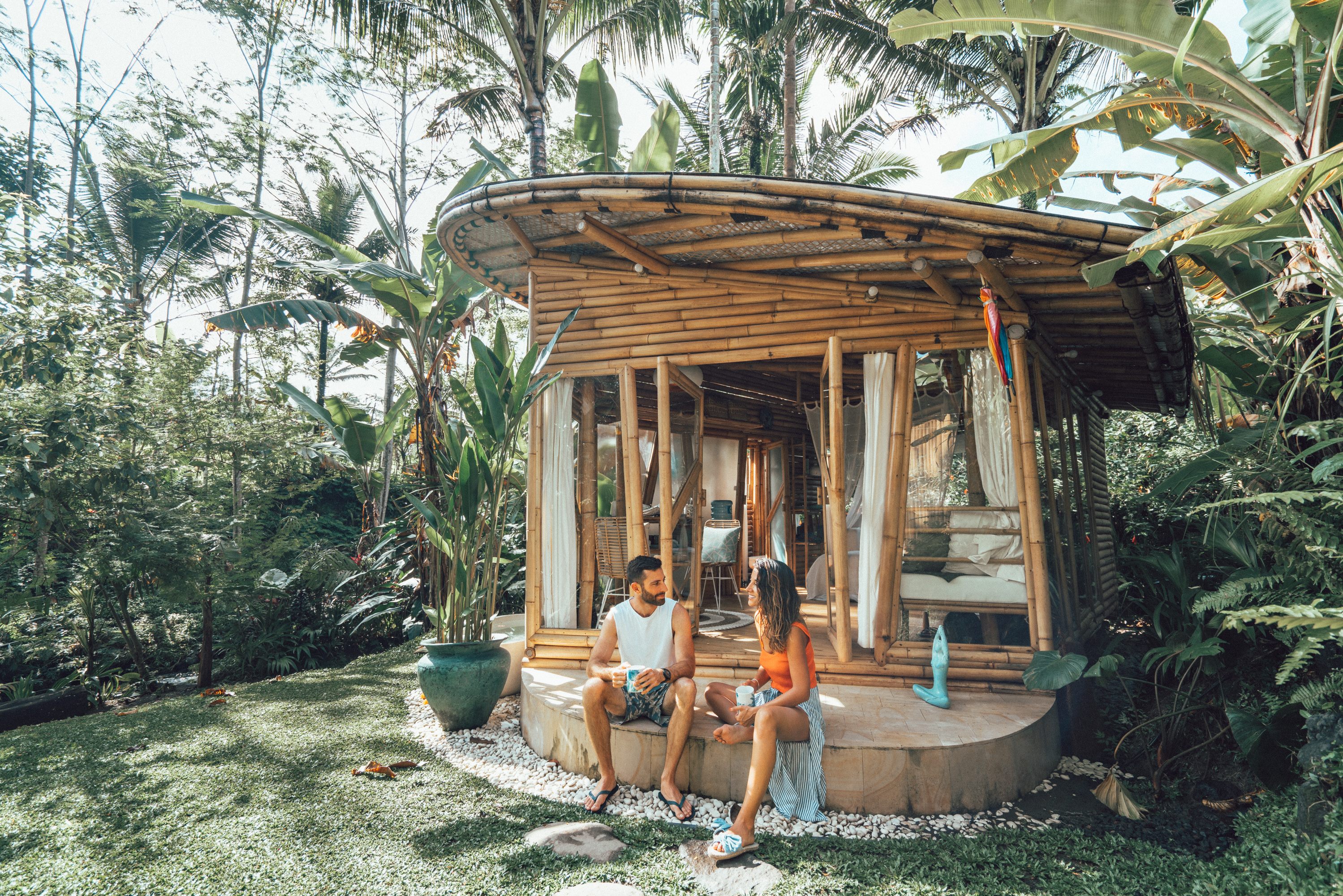 Hideout Lightroom Eco Bamboo Home Tiny Houses For Rent In Selat Bali Indonesia