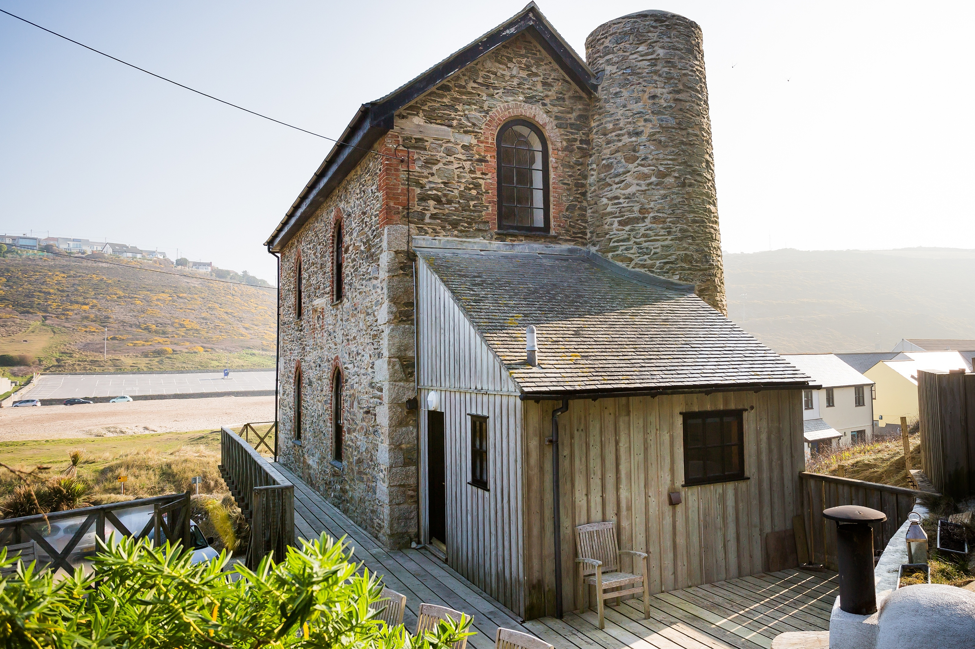 Unique Beachside Listed Cornish Engine House Houses For Rent In Porthtowan England United Kingdom