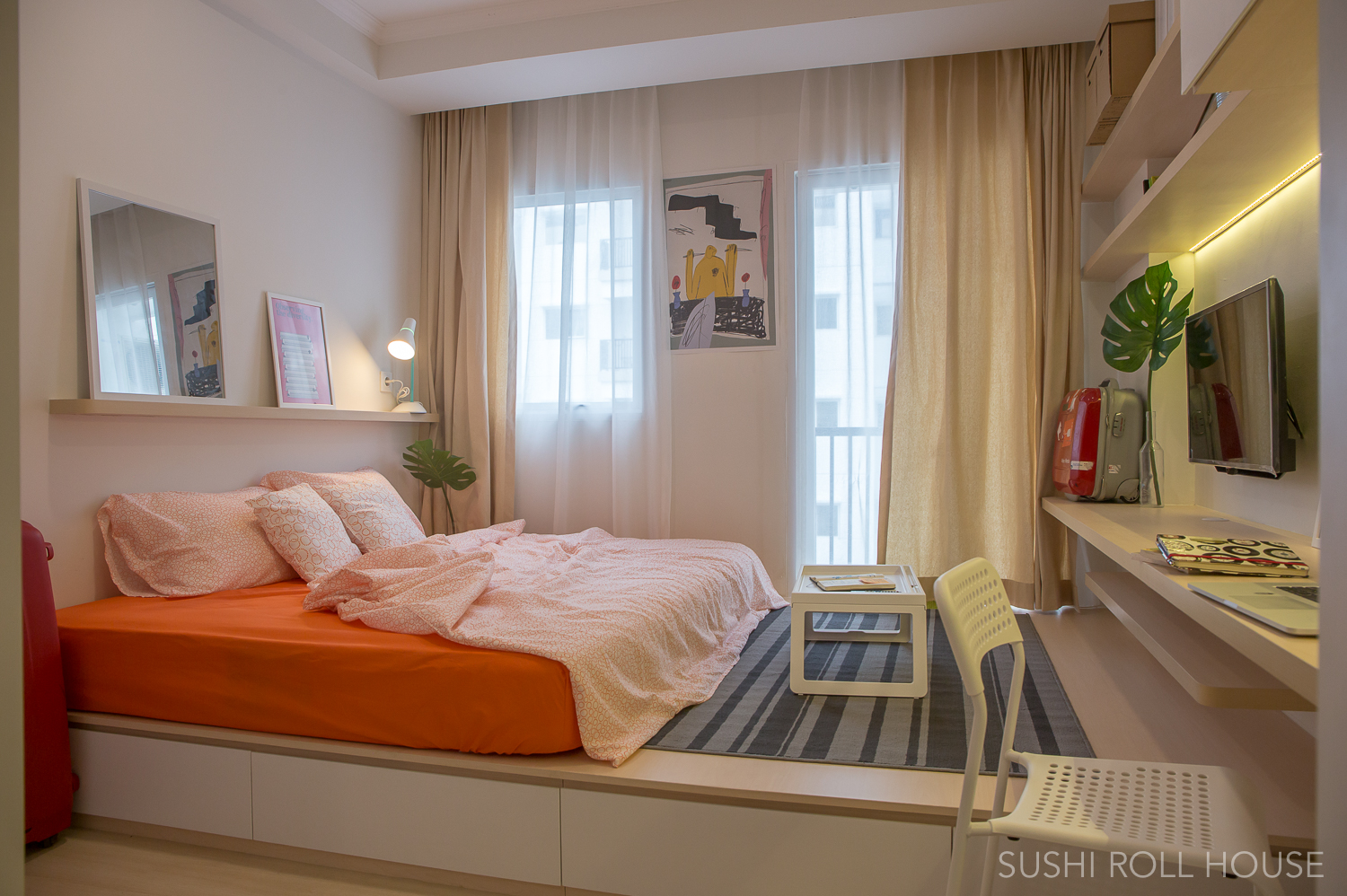 Anese Style Studio Apartment Clean