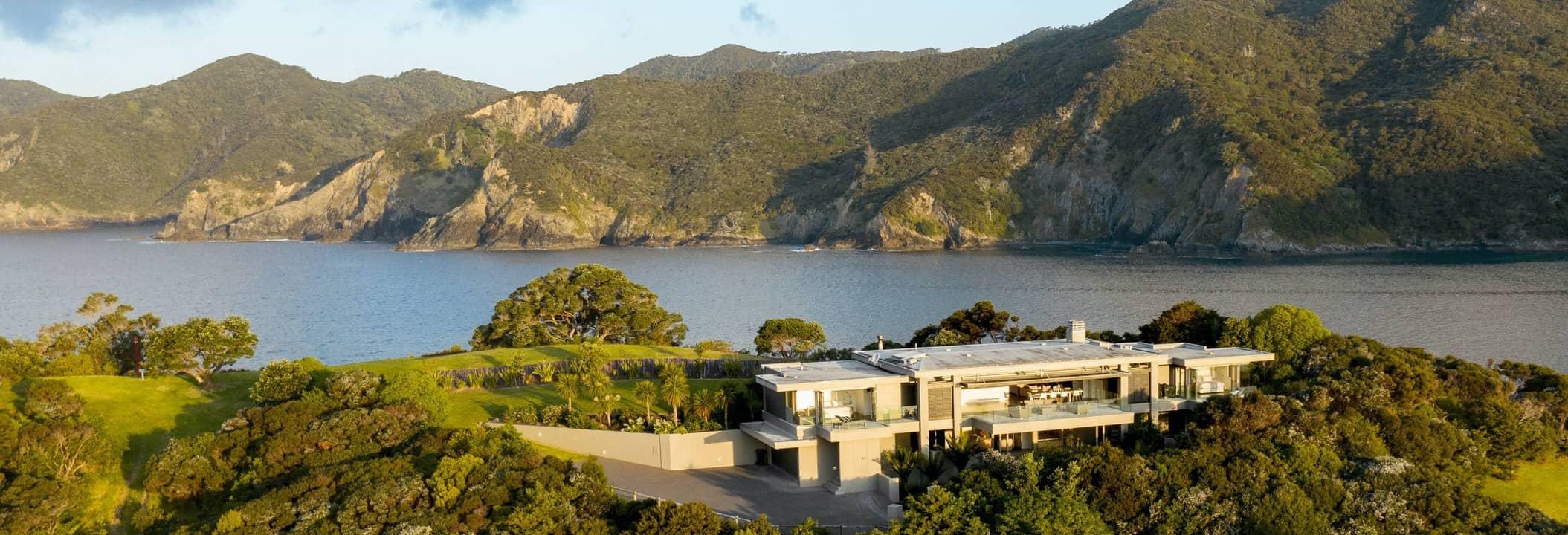 Luxury rentals in New Zealand