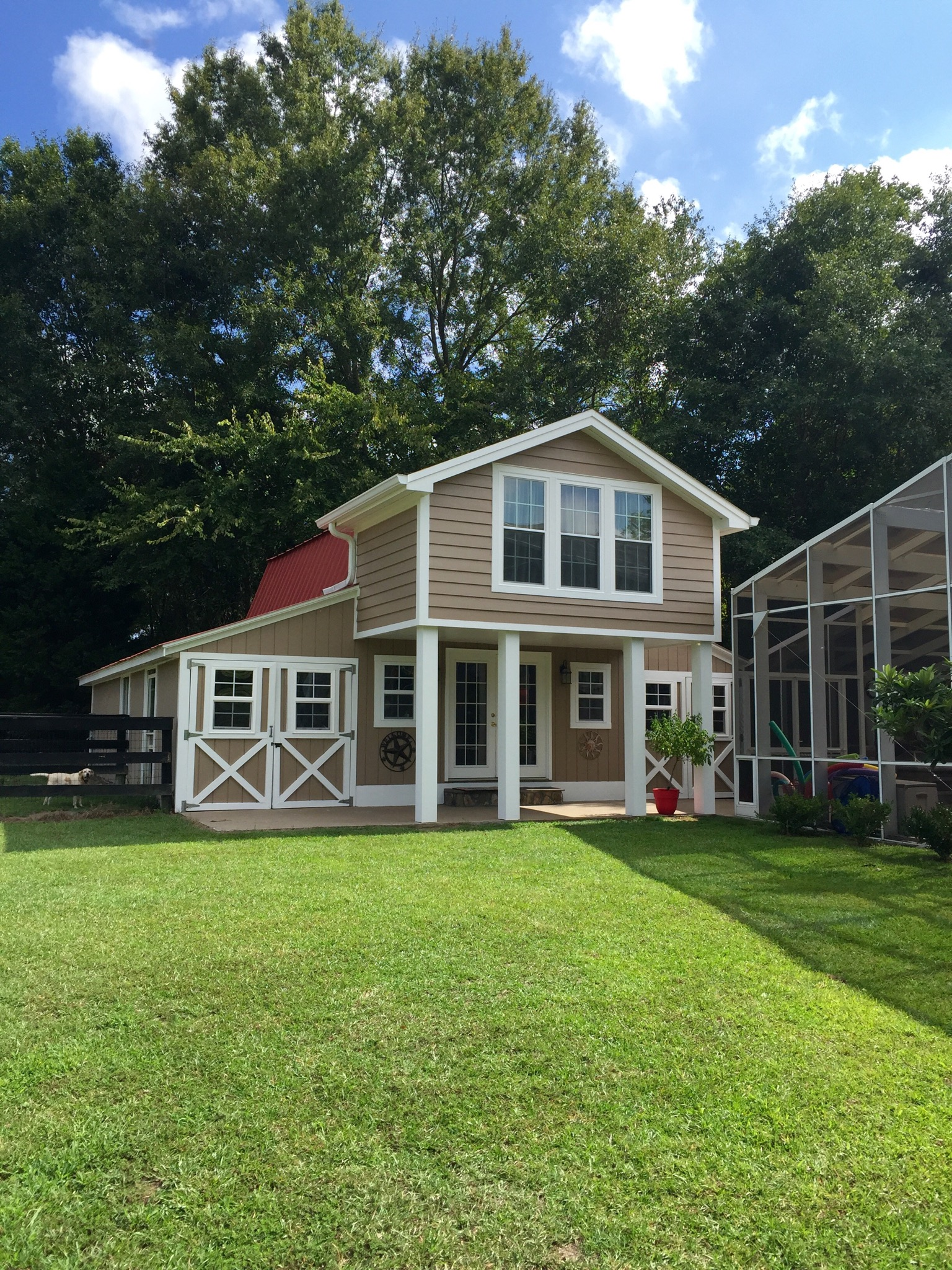 Red Roof Loft Firefly Farm Guesthouses For Rent In Camden South Carolina United States