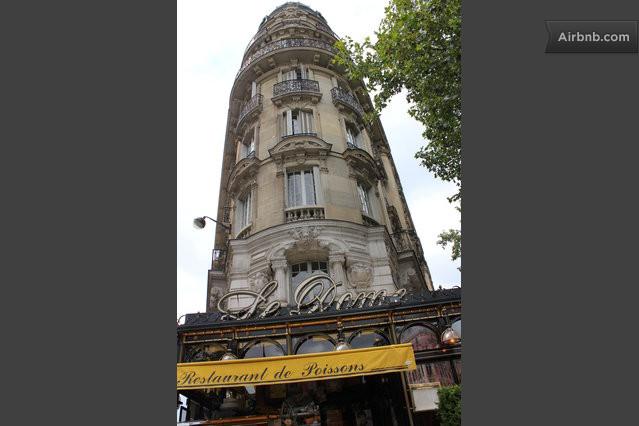 little studio paris montparnasse in paris. Black Bedroom Furniture Sets. Home Design Ideas