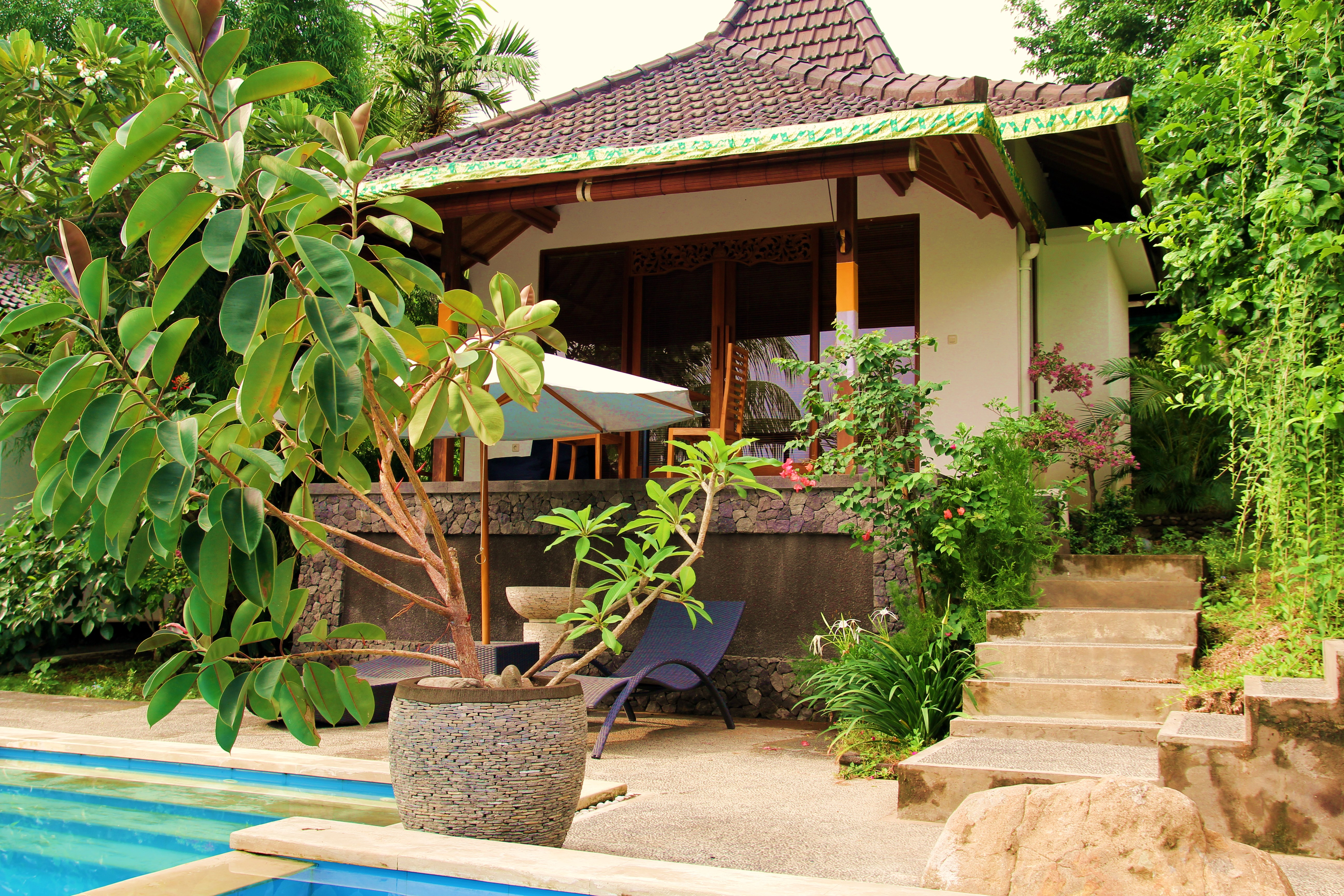 Bali Marina Villas Frangipani Villa Amed Boutique Hotels For Rent In Abang Bali Indonesia