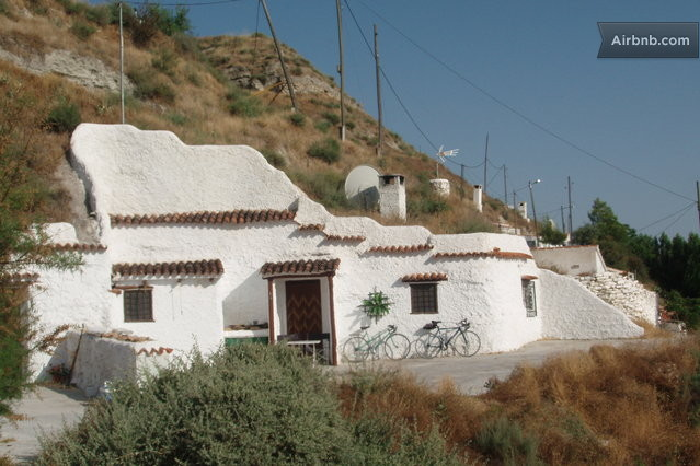 Traditional Spanish Cave House In Castill Jar