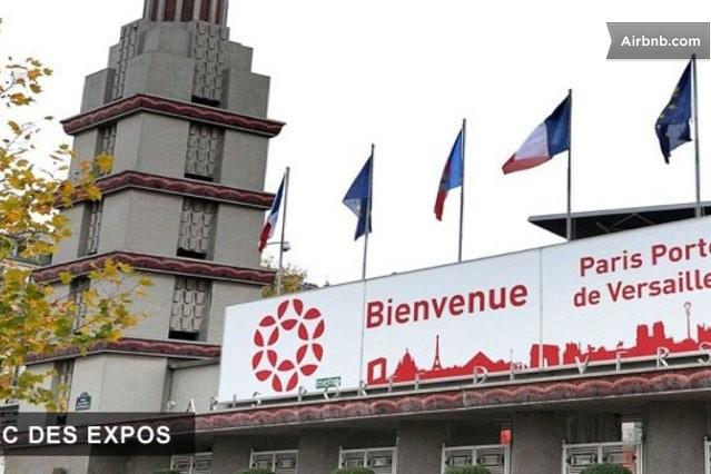 Flat paris porte de versailles in issy les moulineaux - Palais des expositions porte de versailles ...