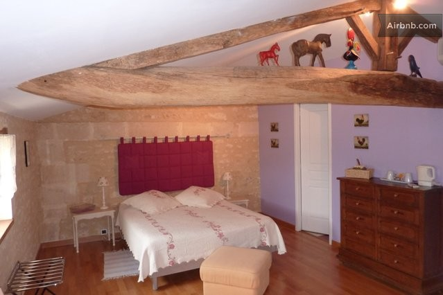 chambre d 39 h tes la champ tre b b clion. Black Bedroom Furniture Sets. Home Design Ideas