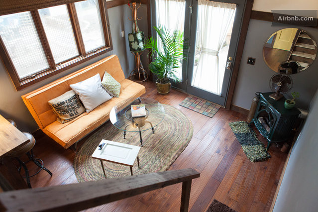 The Rustic Modern Tiny House In Portland - rustic tiny house ideas