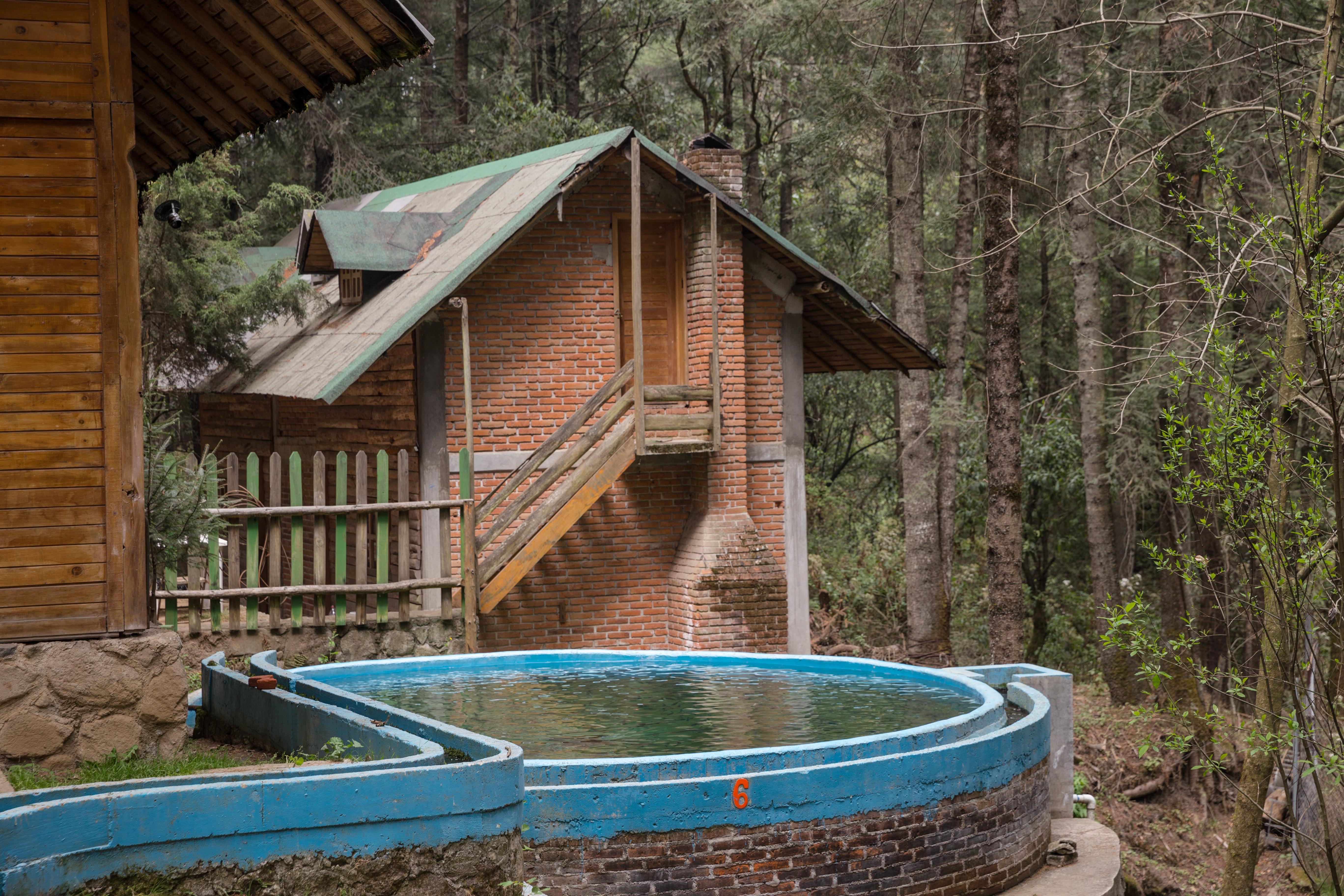 Cabana En El Bosque Cabanas En Renta En Jilotzingo Estado De Mexico Mexico