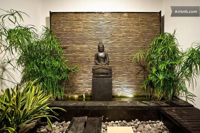 Cosy bayview villa alamanda in nusa dua for Meditation living room