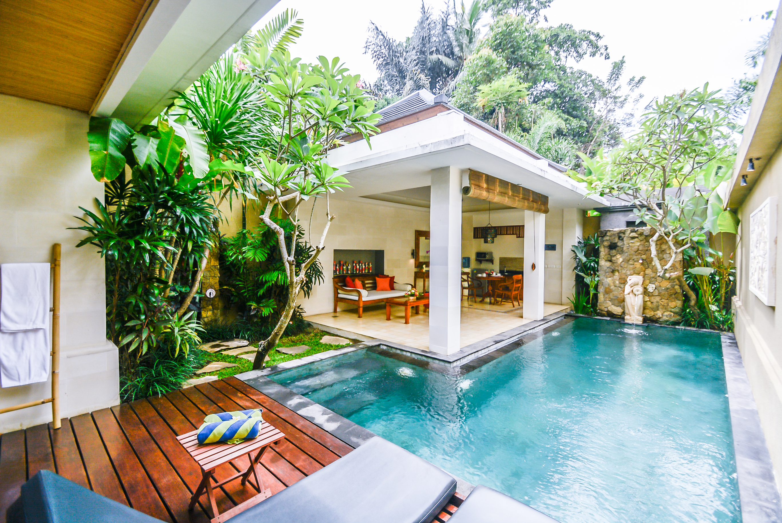 Holiday Villa With Private Pool In Ubud Villas For Rent In Ubud Bali Indonesia