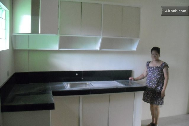 Apartment for rent in city of san pedro for Built in kitchen cabinets philippines