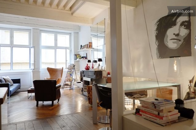 Lyon vacation rentals short term rentals airbnb for Chambre loft vintage lyon