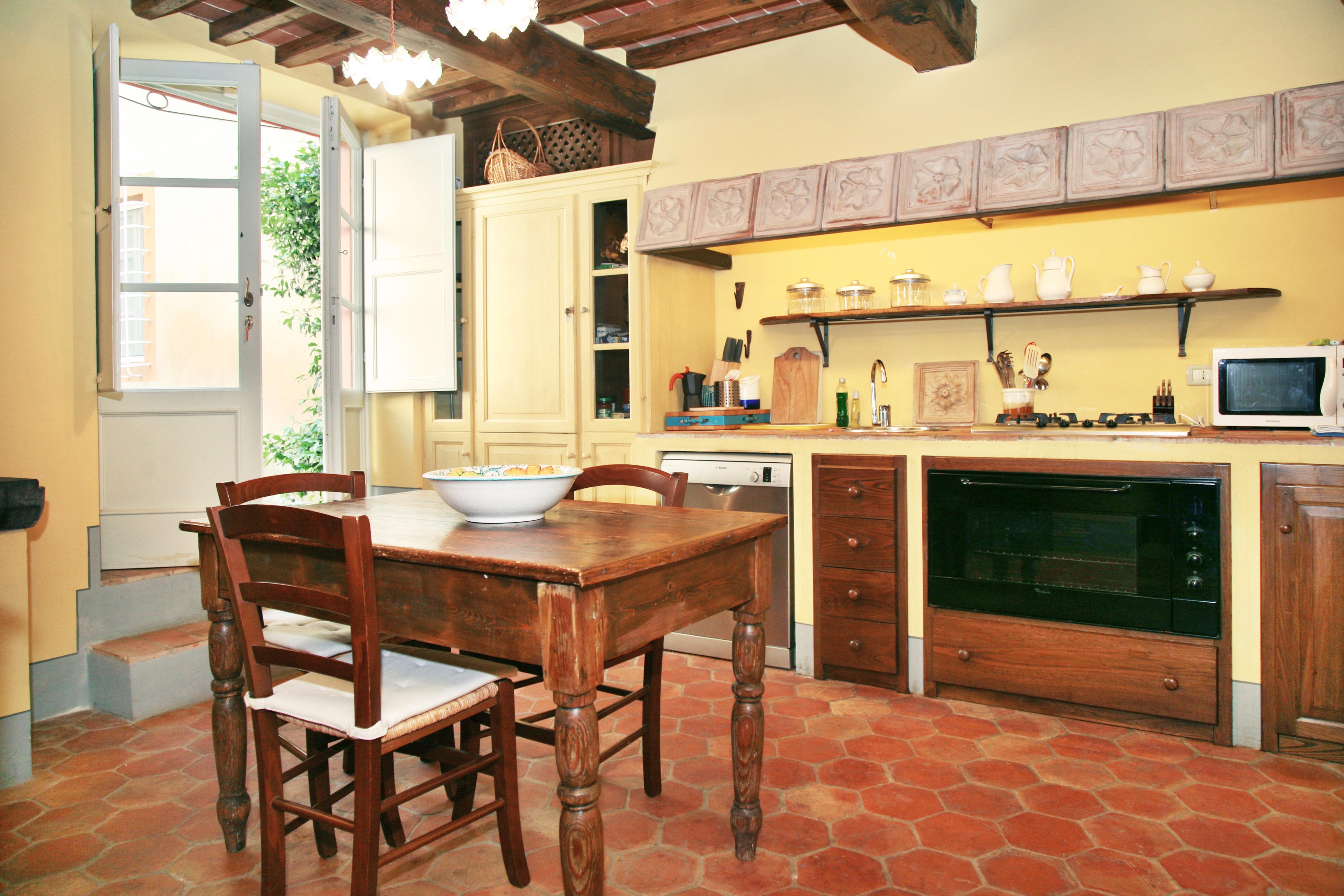 Forno Cucina In Muratura casolare panoramico con piscina - villas for rent in ciciana