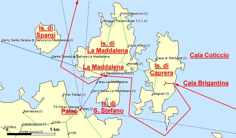 Santo Stefano Sardegna Cartina.Un Amore Di Casa Condomini In Affitto A La Maddalena Sardegna Italia