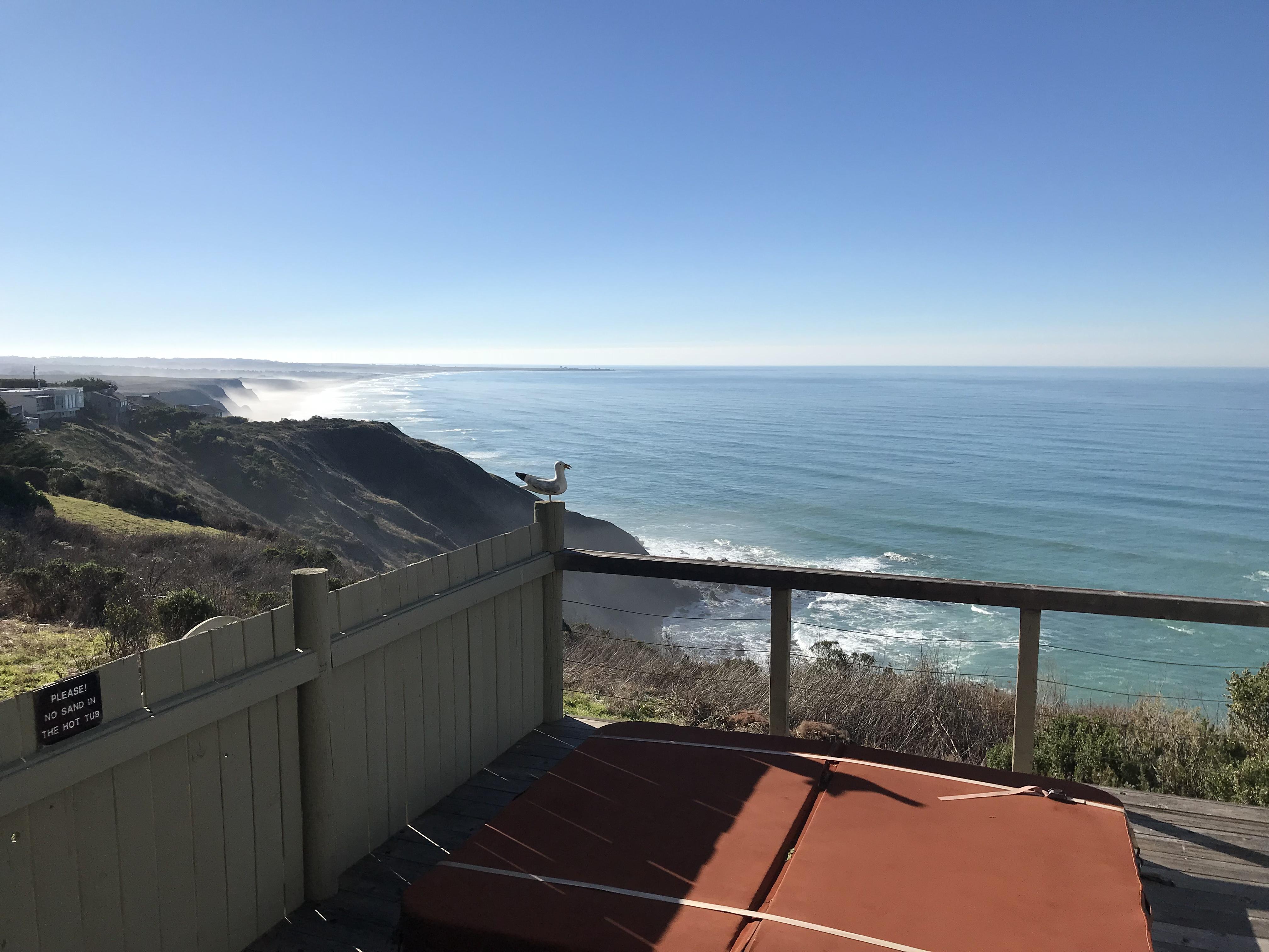 Ocean Front View Irish Beach Mendocino