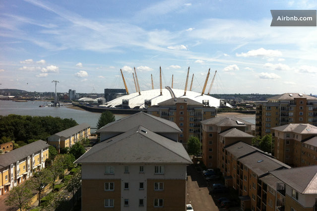 Stunning Apartment views O2 Arena in London