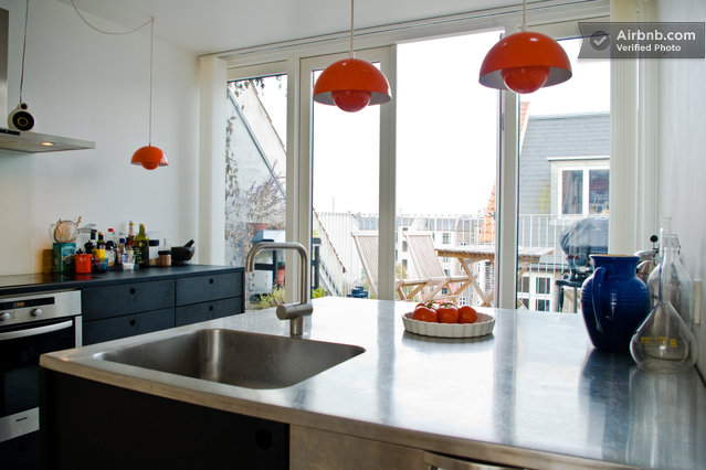 Penthouse for rent in central CPH