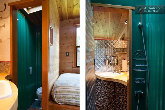 Tiny House Inside Bathroom : Tiny House Inside Bathroom Garden caravan - tiny house in